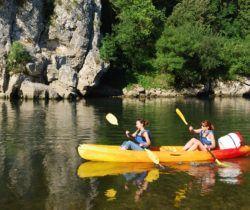 Canoë en Ardèche