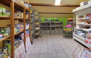 Grocery shop of the camp-site